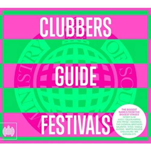 Ministry of Sound - Clubbers Guide to Festivals 2012 [CD]