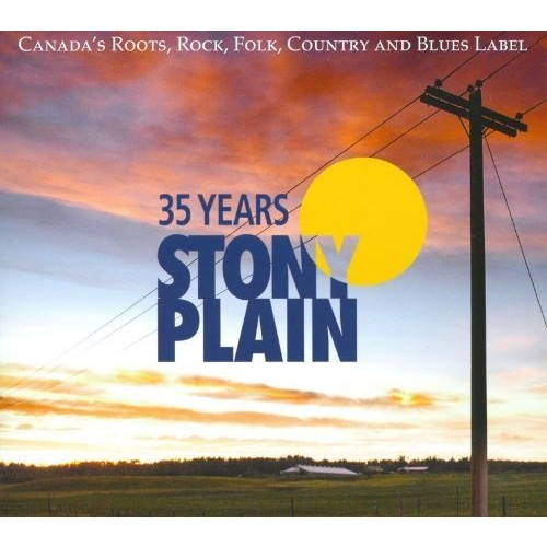 35 Years of Stony Plain [CD & DVD]