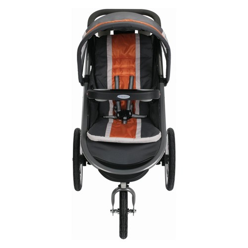 Graco FastAction Fold Jogger Click Connect Stroller in Tangerine