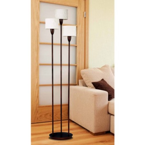 Kenroy Home Crush 75 in. 3-Light Oil-Rubbed Bronze Torchiere
