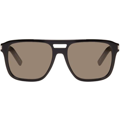 SAINT LAURENT Black Sl 87 Sunglasses