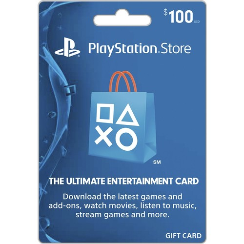 Sony - $100 PlayStation Network Card