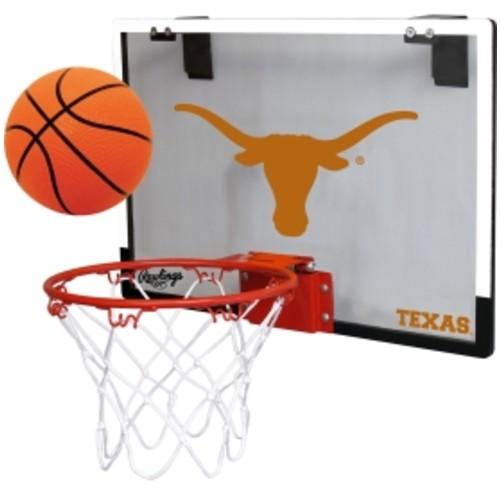 Rawlings Texas Longhorns Game On Backboard Hoop Set