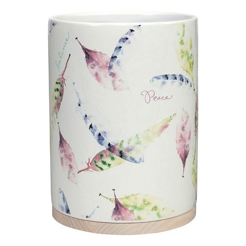 Kathy Davis Daydream Ceramic Wastebasket