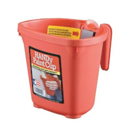 HANDy Paint Pail 16 oz. Plastic Paint Cup (12-Pack)