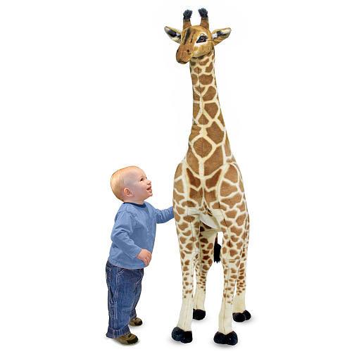 Melissa & Doug Personalized Plush Giraffe