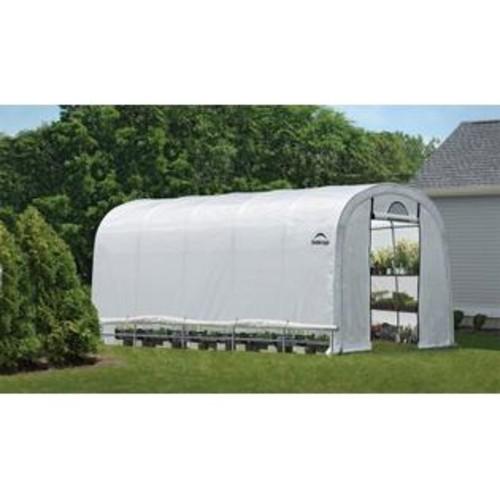 ShelterLogic GrowIT Heavy Duty Round Greenhouse 12 x 20 x 8 ft.