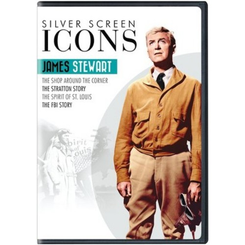 Silver screen icons:James stewart (DVD)