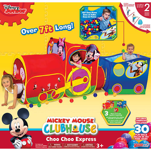 Disney Mickey Mouse Club House Choo Choo Express Play Tent