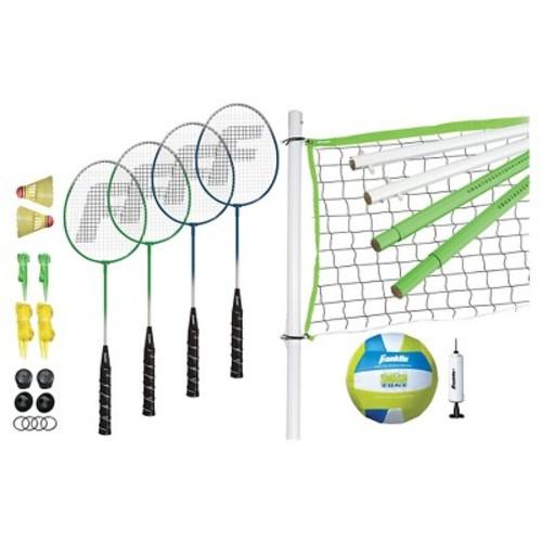 Franklin Sports Intermediate Badminton/ Volleyball Set