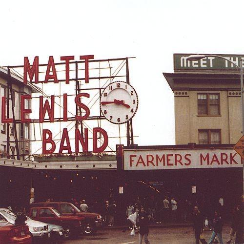 Matt Lewis Band [CD]