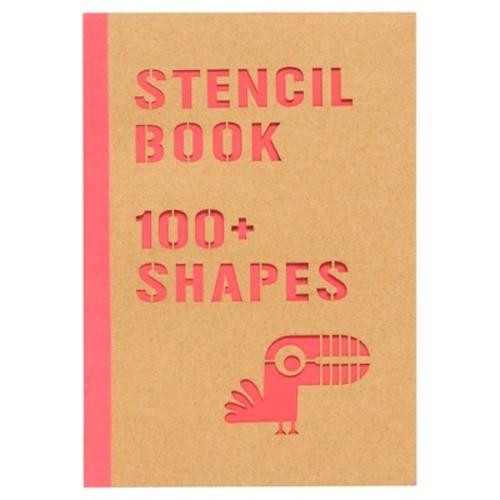 Yoobi Stencil Book - 8 Sheets, 100+ Shapes