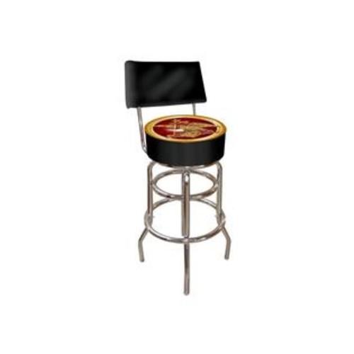 Trademark Gameroom Anheuser Busch Padded Swivel Bar Stool With Back