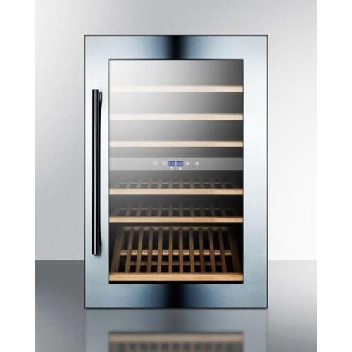 Summit Appliance 59 Bottle Dual Zone Built-In Wine Cooler