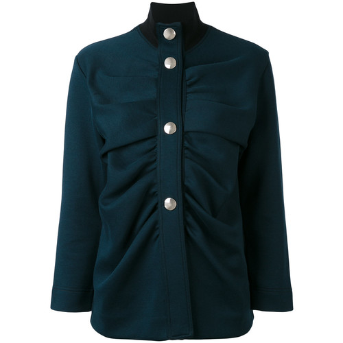MARNI High Neck Military Style Jacket