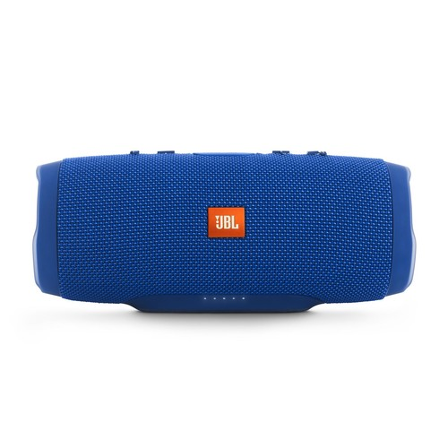 JBL - Charge 3 Portable Bluetooth Speaker - Blue