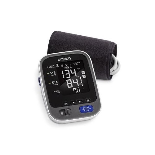 Omron 10 Series Wireless Upper Arm Blood Pressure Monitor with Cuff that fits Standard and Large Arms (BP786/BP786N) with Bluetooth Smart Connectivity