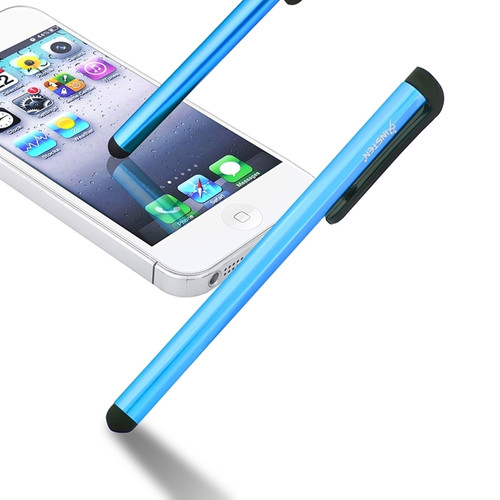 Insten 600766 Universal Touch Screen Stylus w/ Clip For Apple iPhone iPad Samsung Galaxy Tab & More Smartphones u0026 Tablets, Blue