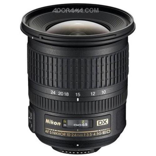 Nikon AF-S DX NIKKOR 10-24mm f/3.5-4.5G ED Lens - OPEN BOX