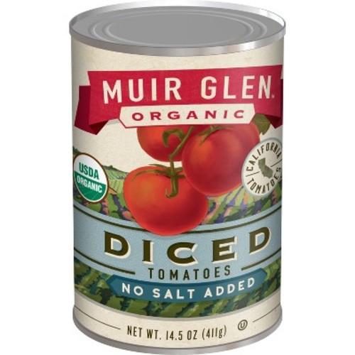 Muir Glen Organic Diced Tomatoes No Salt Added 14.5oz