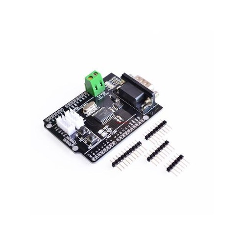 CAN Shield expansion board connected to the car CAN bus communication protocol for arduino