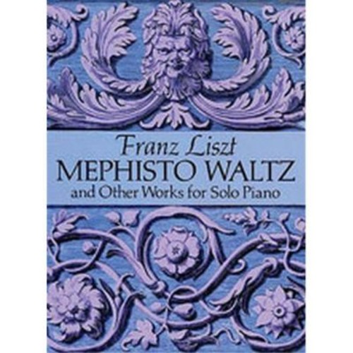 Alfred Mephisto Waltz and Other Works for Solo Piano - Music Book (ALFRD43504)