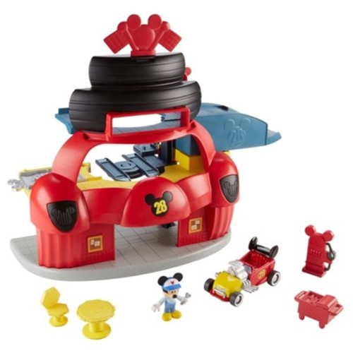 Fisher-Price Disney Mickey and the Roadster Racers Roadster Racers Garage - Mickey Mouse