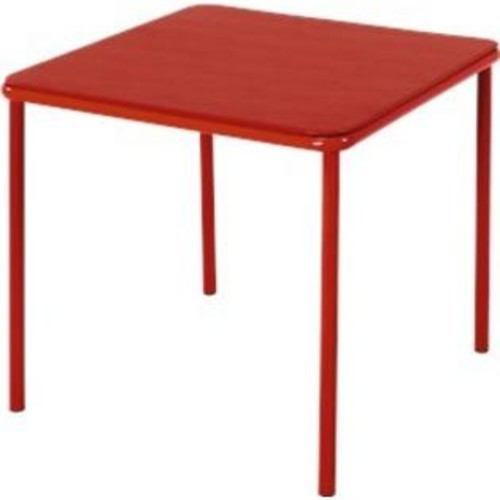 Cosco Home and Office Products Kid's Vinyl Top Table Color: Red - 14314RED1E