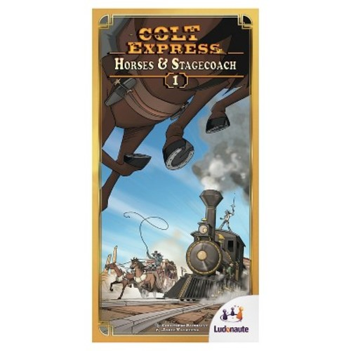 Asmodee Colt Express Horses and Stagecoach Board Games