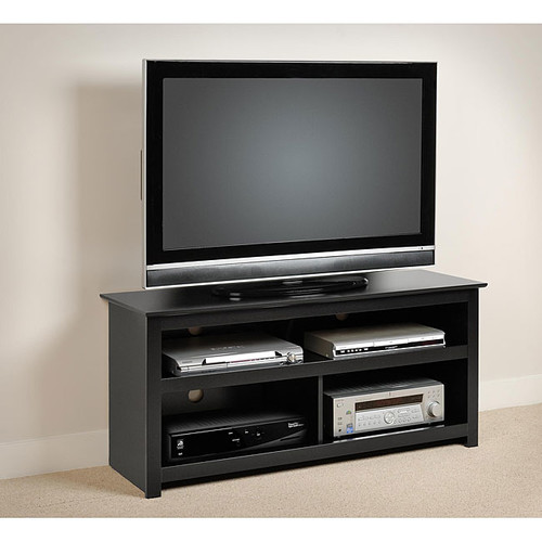 Prepac TV Stands & Entertainment Centers Broadway Black Plasma/ LCD TV Console