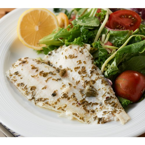 The Perfect Gourmet (12) 3.3-oz Flounder in Sauce