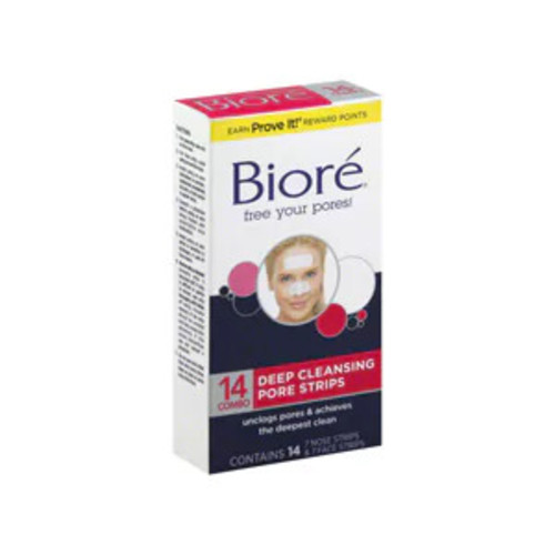 Biore Deep Cleansing Pore Strips, 14CT