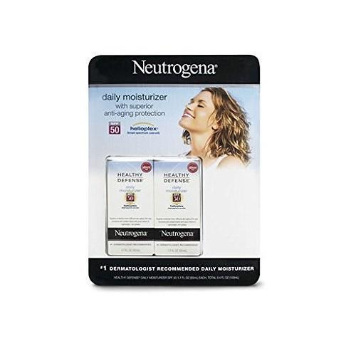 Neutrogena Healthy Defense Daily Moisturizer Helioplex, 1.7 Fl. Oz., 2-pk