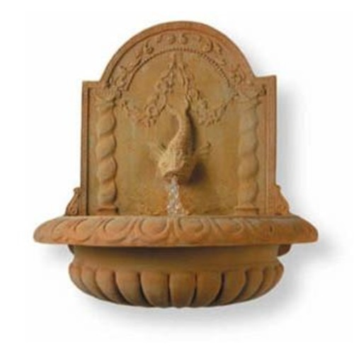 Great Dolphin Fountain in Terra Finish design by Capital Garden Products