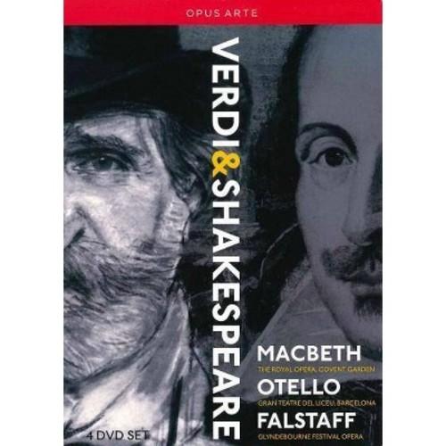 Verdi:Shakespeare operas (DVD)