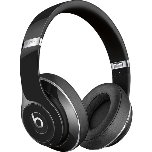 Beats by Dr. Dre - Beats Studio2 Wireless Over-Ear Headphones - Gloss Black