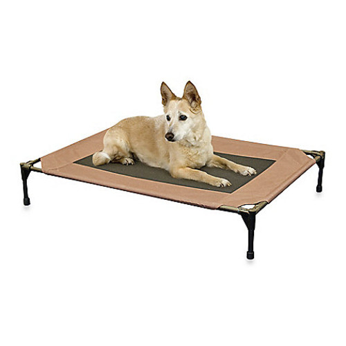 K&H Large Pet Cot in Chocolate