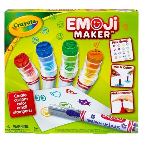 Crayola Emoji Maker Marker Kit
