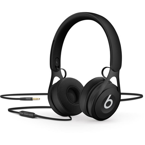 Beats by Dr. Dre EP (Black) On-ear headphones with in-line remote and mic