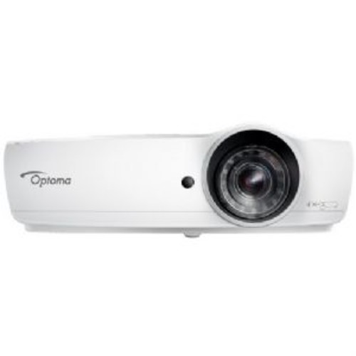 Optoma EH460ST DLP Projector - 1080p, Full 3D, 4200 Lumens, 20000:1 Contrast Ratio, Short throw TR: 0.5:1, 4500 Hour Lamp, 2x HDMI, 10W Speaker, 3-Year Warranty, 1-Year Lamp Warranty - EH460ST