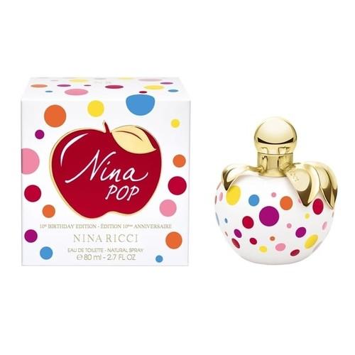 Nina Ricci Nina Pop 10th Birthday Edition Women 2.7-ounce Eau De Toilette Spray