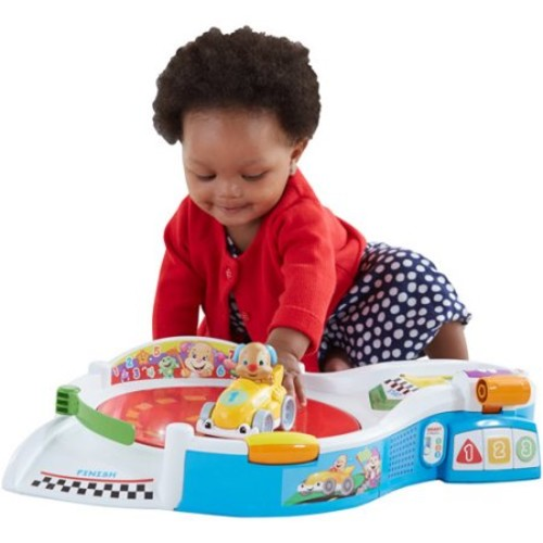 Fisher-Price Laugh & Learn Puppy's Smart Stages Speedway