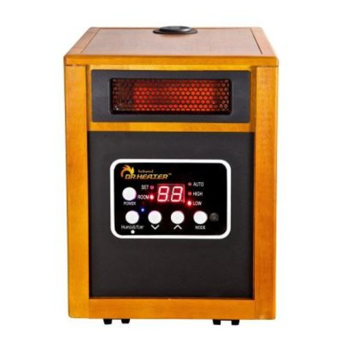 Dr Infrared Heater 1500-Watt Infrared Portable Space Heater with Humidifier and Dual Heating System