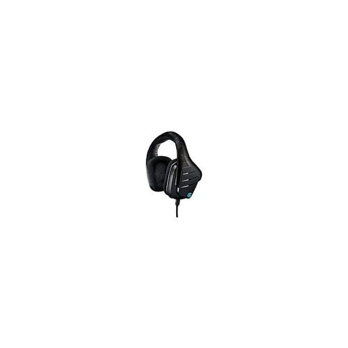 Logitech G633 Artemis Spectrum RGB 7.1 Surround Gaming Headset - Black - Mini-phone, USB - Wired, 39 Ohm, 20Hz - 20kHz , Over-the-head - Binaural  Circumaural