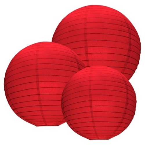 LumaBase Paper Lanterns, Multi-Size, 6-Count
