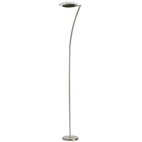 Radionic Hi Tech Nevaeh 72'' LED Floor Lamp; Satin Chrome