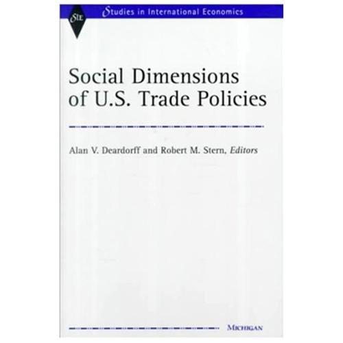 Social Dimensions of U.S. Trade Policies