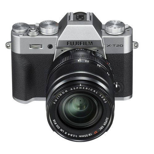 FujiFilm X-T20 Mirrorless Camera with 18-55mm Lens (Silver)