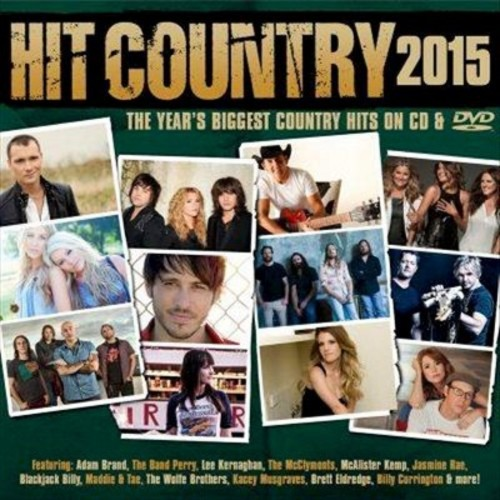 Hit Country 2015 [CD & DVD]