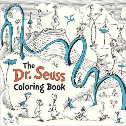 The Dr. Seuss Coloring Book (Paperback) by Seuss